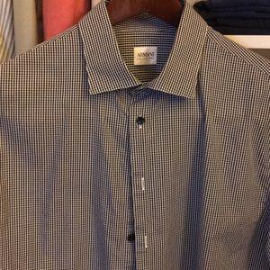Giorgio Armani Collezioni Dress Shirt 16 1/2 34/35